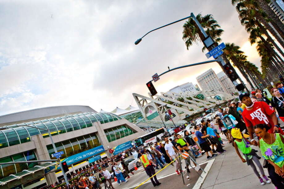 SAN DIEGO, CA - JULY 21:  General Atmosphere of crowds and cosplay at Comic-Con International 2013 on July 21, 2013 in San Diego, California. Photo: Gabriel Olsen, Getty Images / 2013 Gabriel Olsen