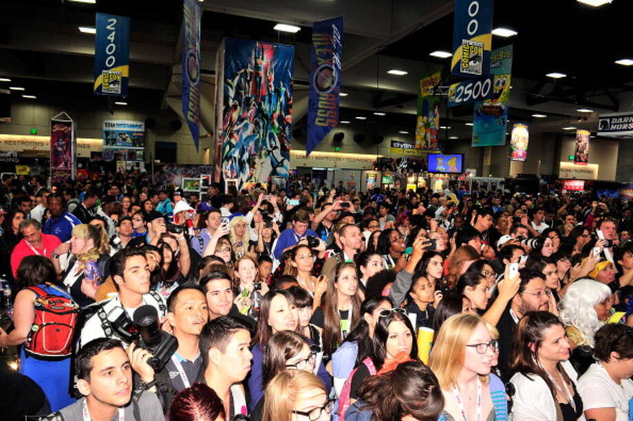 SAN DIEGO, CA - JULY 21:  A general view of the atmosphere at Marvel's 'Thor: The Dark World' Autograph Signing - Comic-Con International 2013 on July 21, 2013 in San Diego, California. Photo: Jerod Harris, Getty Images / 2013 Getty Images