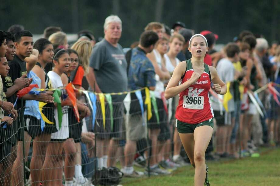 As The Woodlands makes a push for first place in the Region II race Saturday, senior Madi McLellan also should be in the running for the individual title. Photo: Jerry Baker, Freelance