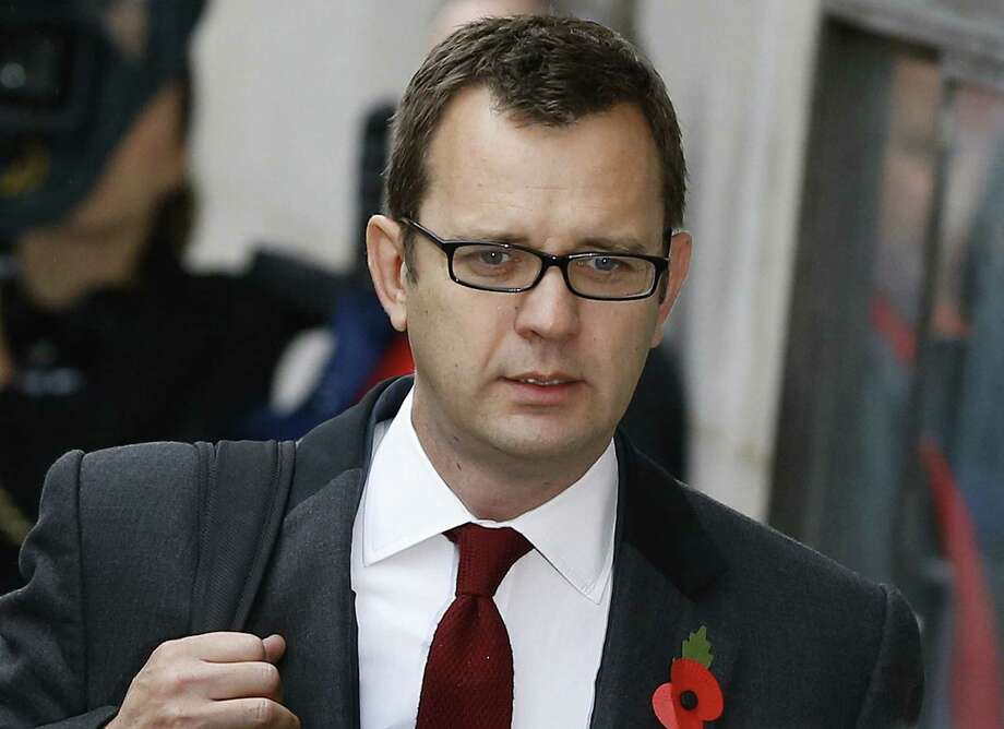 Andy Coulson was editor of defunct British tabloid News of the World from 2003-07. Photo: Kirsty Wigglesworth / Associated Press