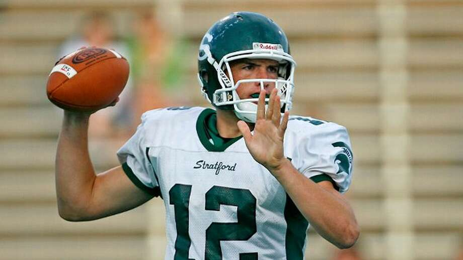 Luck showed the football flashes at Stratford HS for what was to come.