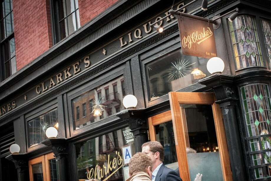 The Sportsdom always recommends P.J. Clarke's, 55th & Third, for quality NYC refreshment.