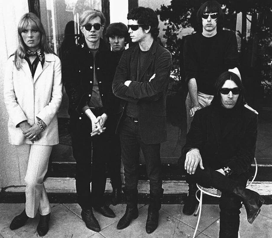 Lou Reed with his Velvet Underground.
