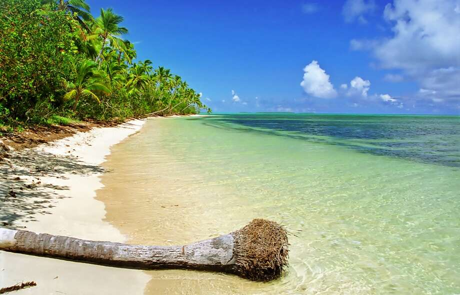 "10. Ha'apai, Tonga:The 62 ""lush, reef-fringed islands"" in Tonga's central island group of Ha'apai are worth the long  journey to the South Pacific, according to Lonely Planet. The Kingdom of Tonga's Web site has travel tips for the nation's more than 170 islands. Photo: LimeWave - Inspiration To Exploration, Getty Images/Flickr RF"