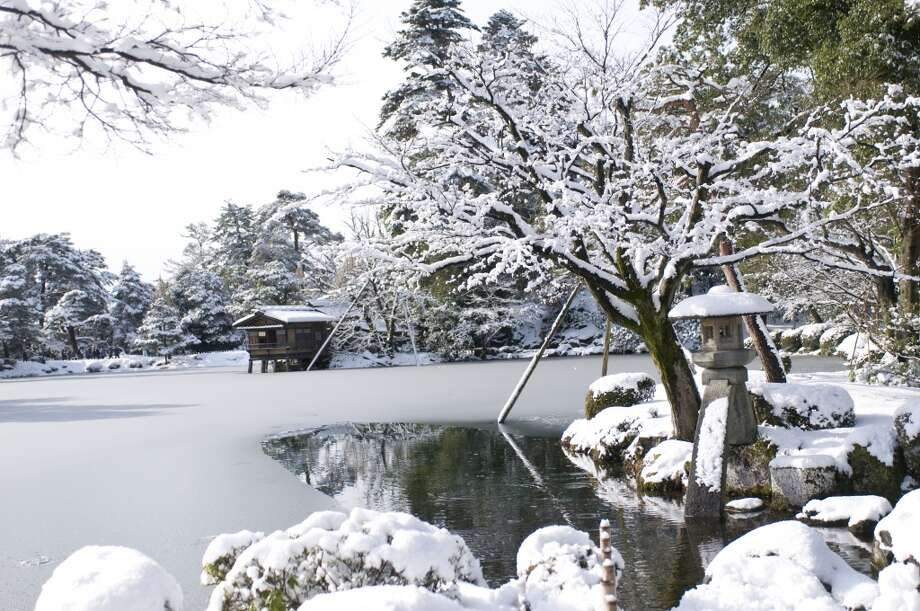 """4. Hokuriku, Japan:The Alpine scenery of Honshu's western coast is """"often overlooked by time-poor visitors,"""" according to Lonely Planet, which notes a bullet train to the region's metropolis of Kanazawa (pictured) is due to open in March 2015. Go in 2014 to enjoy its onsen  (hot baths), castles and geisha culture before the hordes arrive. The Japan National Tourism Organization has suggestions for a  three-day trip. Photo: Kazuko Kimizuka, Getty Images"""