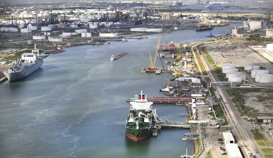 The Port Corpus Christi  is seeing an increase in activity due to the oil and gas production from the Eagle Ford. Photo: Bob Owen, San Antonio Express-News