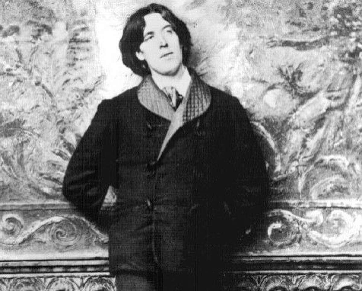 Oscar Wilde in New York City, 1882.