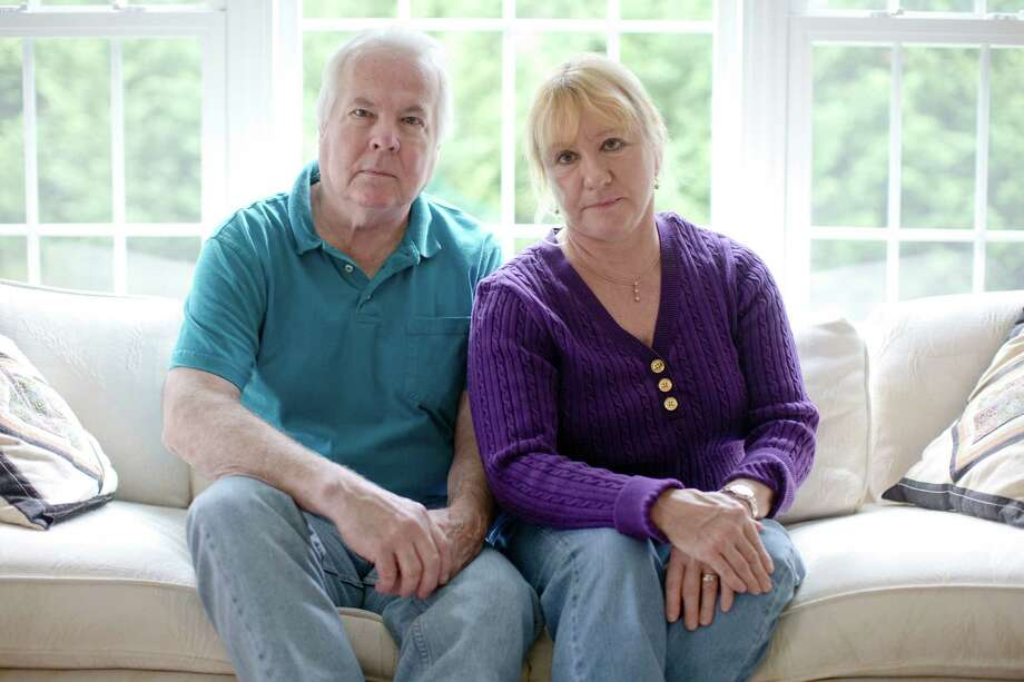 Dean and Mary Lou Griffin are among millions nationwide whose individual insurance policies are being discontinued because they don't meet the higher benefit requirements of the new law. Photo: Matt Rourke, STF / AP