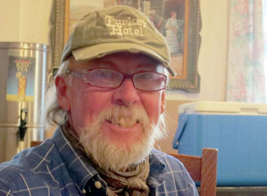 "Jerry Britt likes ""seeing how people put their lives together and make a living"", in Turkey, Texas. Photo: Joe Holley, Houston Chronicle / Houston Chronicle"