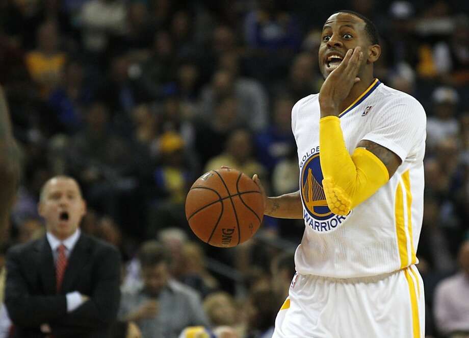 Andre Iguodala, acquired this summer from Denver, brings a reputation for selfless play and tough defense to the Warriors. Photo: Leah Millis, The Chronicle