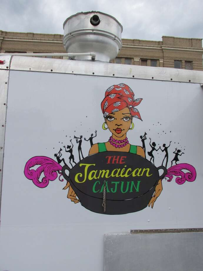 The Jamaican Cajun food truck, found at Lunch at the Lake every Monday and in the parking lot of the First City Building during lunch every Tuesday through Friday. Photo: Cat5