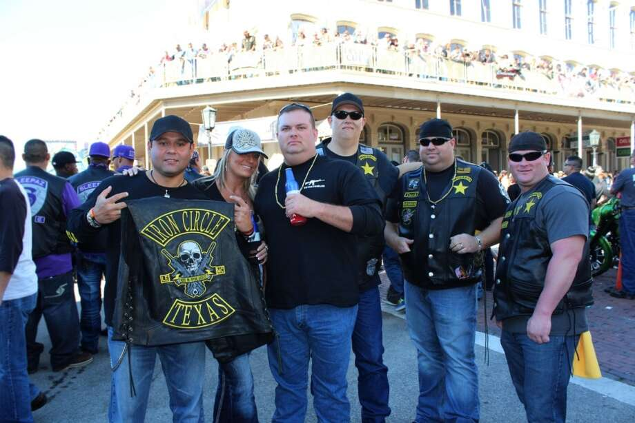 "Galveston's annual Lone Star Rally was expected to draw more than 500,000 motorcycle enthusiasts over the weekend, with concerts, special appearances by stars of FX network's ""Sons of Anarchy"" and a ride-in bike show. The event winds up Sunday, Nov. 3, 2013. Photo: Jorge Valdez / For The Houston Chronicle"