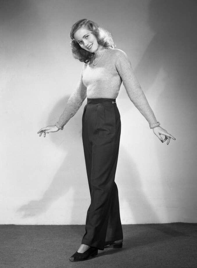 EVA MARIE SAINT -- Pictured: Actress Eva Marie Saint in 1947 -- (Photo by: NBC/NBCU Photo Bank via Getty Images) Photo: NBC, NBCU Photo Bank Via Getty Images / 2012 NBCUniversal Media, LLC