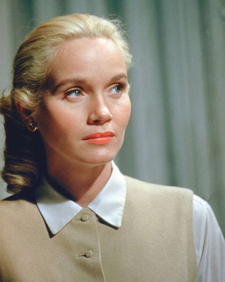 Eva Marie Saint, US actress, wearing a white blouse and a beige waistcoat, with a nervous expression on her face, circa 1955. (Photo by Silver Screen Collection/Getty Images) Photo: Silver Screen Collection, Getty Images / 2011 Silver Screen Collection