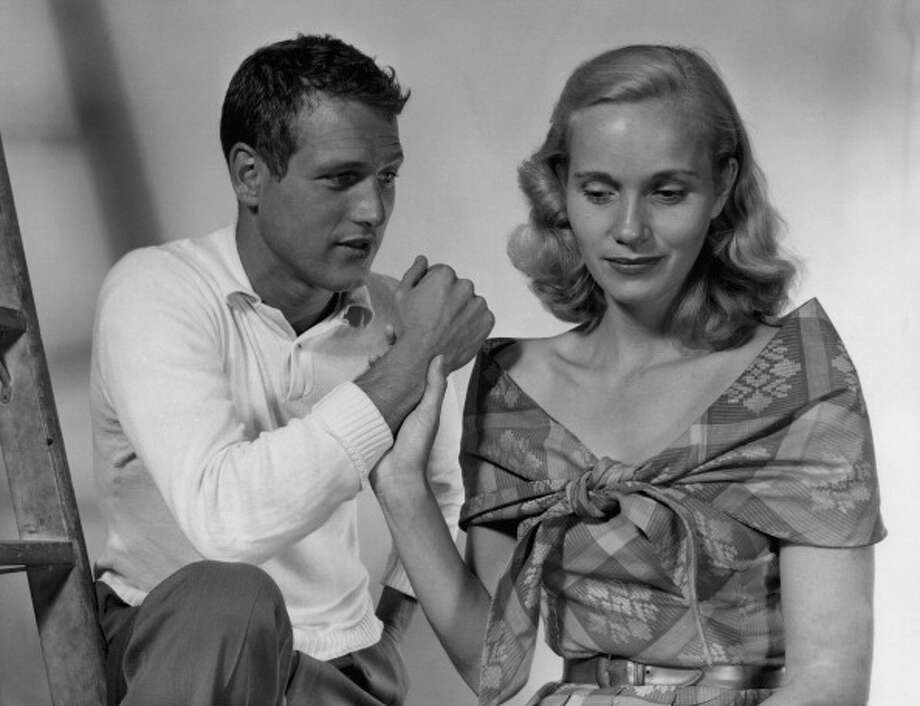"1956:  PRODUCERS' SHOWCASE: -- ""Our Town"" Episode 202 -- Pictured: (l-r) Paul Newman as George Gibbs, and Eva Maria Saint as Emily Webb -- (Photo by: NBC/NBCU Photo Bank via Getty Images) Photo: NBC, NBC Via Getty Images / 2012 NBCUniversal, Inc."