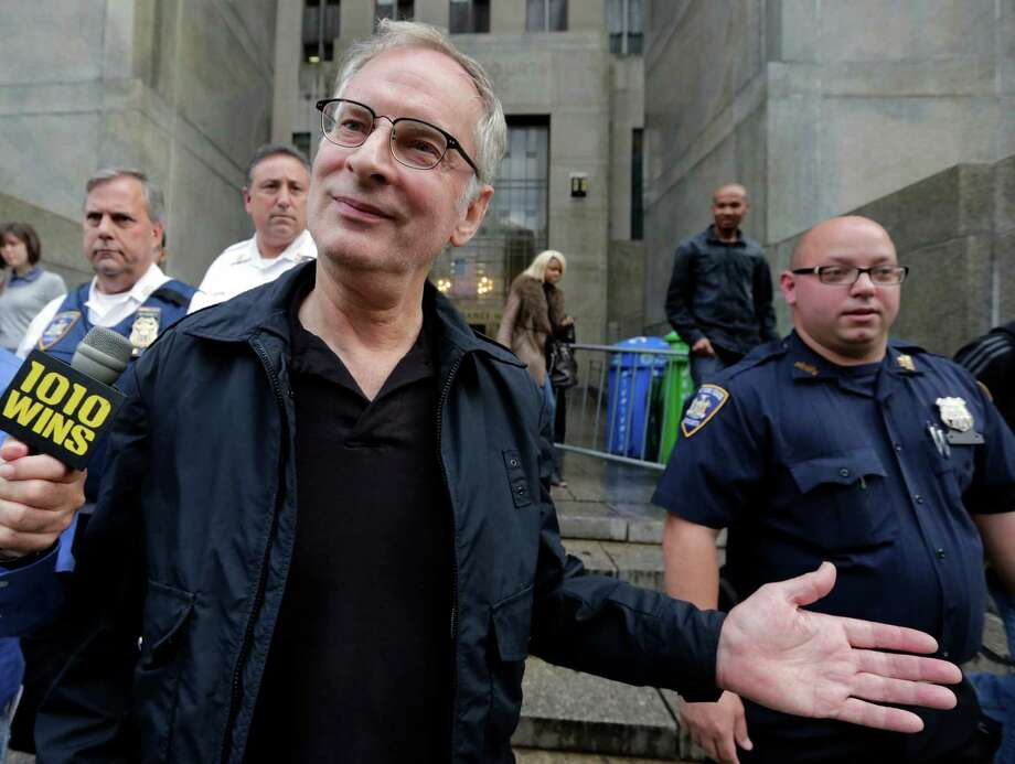 Bernhard Goetz leaves Manhattan criminal court, in New York, Friday, Nov. 2, 2013. Subway vigilante Goetz, who ignited a national furor over racism and gun control after he shot four panhandling youths on a train in the 1980s, was arrested on drug charges. Photo: Richard Drew, AP / AP