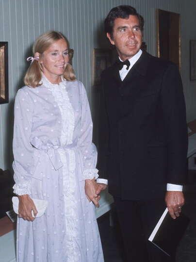 1970 eva marie saint and husband jeffrey hayden during