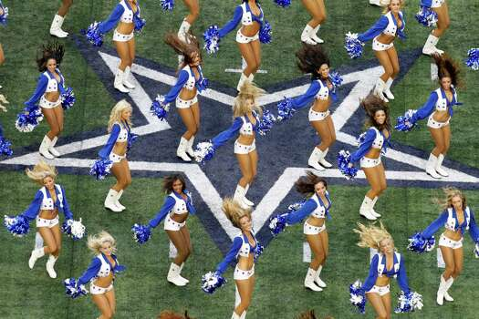 """Dallas Cowboys Cheerleaders: Making the Team"" was filmed in Irving, then Arlington after the team changed stadiums. Photo: Sharon Ellman, Associated Press / FR170032 AP"
