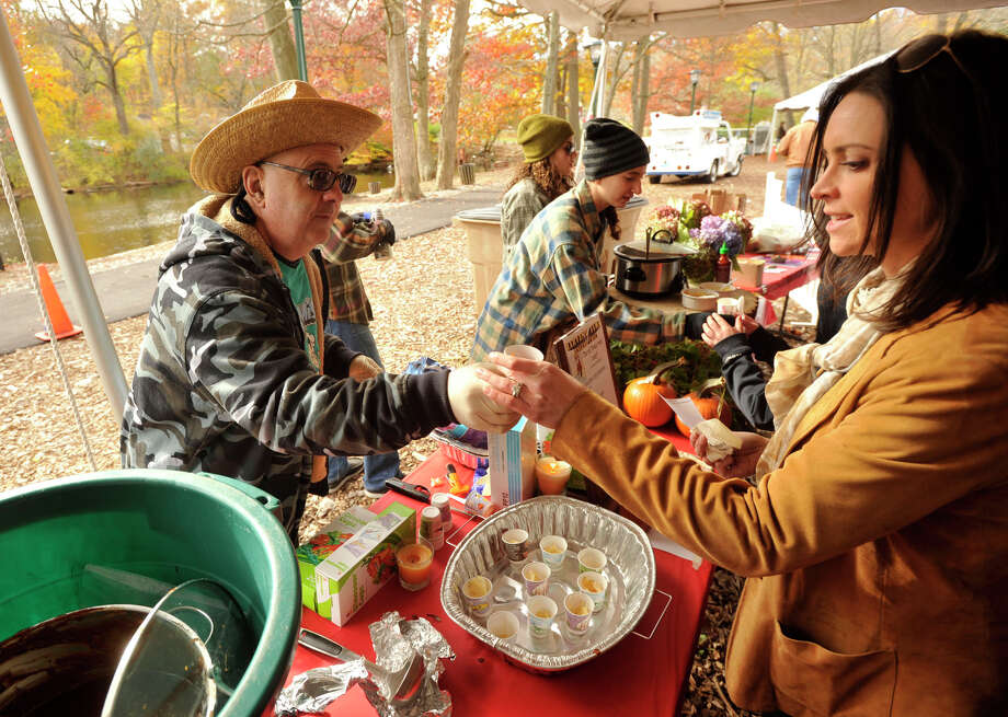 The sixth annual Stamford Charity Chili Cookoff took place at the Stamford Museum and Nature Center in Stamford, Conn., on Sunday, Nov. 3, 2013. Photo: Jason Rearick / Stamford Advocate