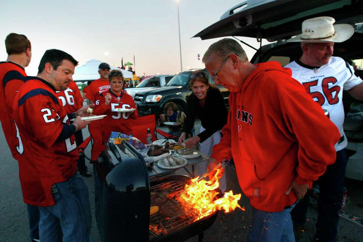Only vegan dishes will be allowed at Reliant Stadium tailgating events. Violators will be forced to walk through the parking lot blindfolded wearing a Matt Schaub jersey.