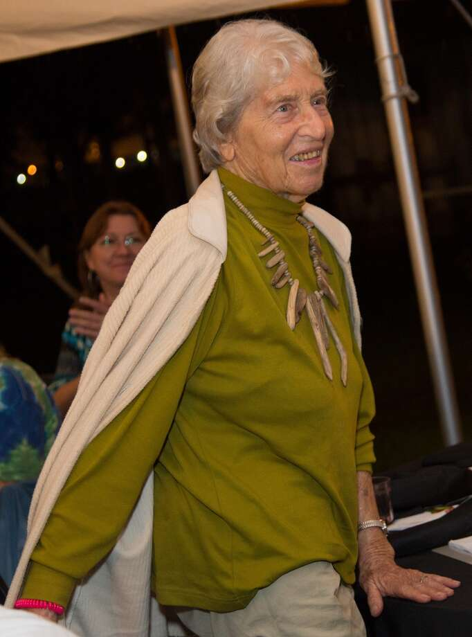 Hana Ginzbarg at the Armand Bayou Nature Center Gala in 2013. Photo: Andy Eng
