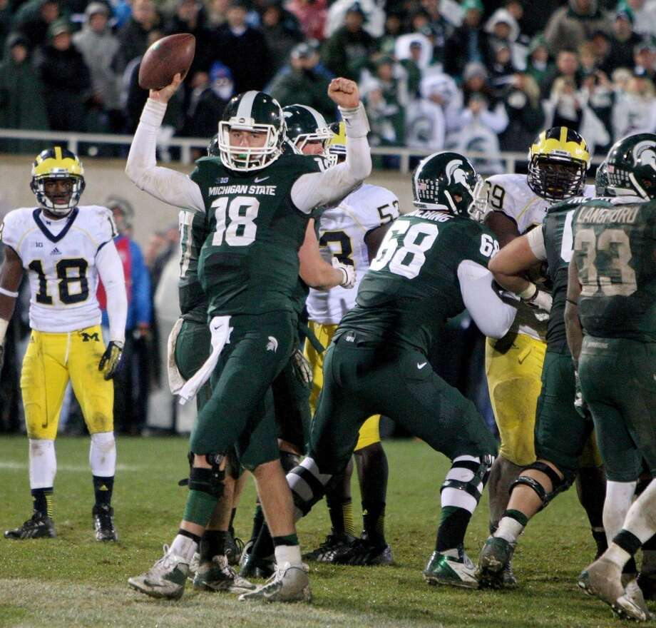 17. Michigan State Photo: Kirthmon F. Dozier, McClatchy-Tribune News Service