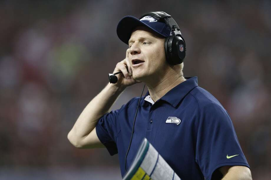 "Goat: Offensive coordinator Darrell BevellThe offensive play-calling for the Seahawks lately has been suspect at best. Until Lynch got six carries on eight plays in the overtime period Sunday, his playing time had been far below average these past two weeks. And it all came to a head in the fourth quarter Sunday, when the Hawks were still down by seven points.   On first-and-goal from the Tampa 3, instead of ""feeding the Beast"" Bevell elected for Wilson to throw a quick pass to Baldwin into the end zone – a quick pass that was picked off by Buccaneers cornerback Keith Tandy. Why do the Seahawks consistently throw it at the goal line when they have Marshawn Lynch? Photo: Joe Robbins, Getty Images"