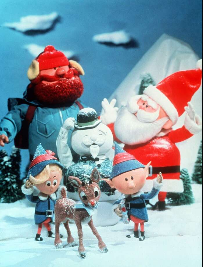 Rudolph again lights up Christmas for Santa and the gang in the stop-action, animated holiday classic, narrated by Burl Ives, RUDOLPH, THE RED-NOSED REINDEER Photo: CBS