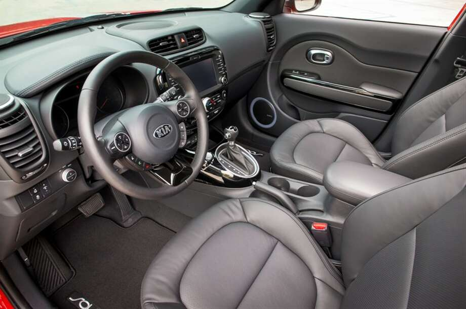 Another view of the inside. Photo: Kia