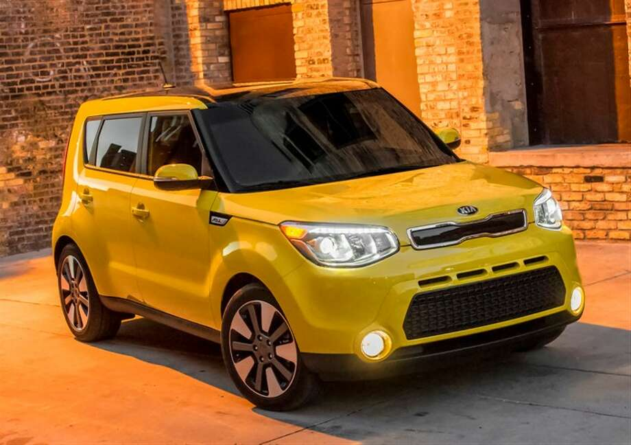 Do you like this yellow color? Looks like a school bus to me. Photo: Kia