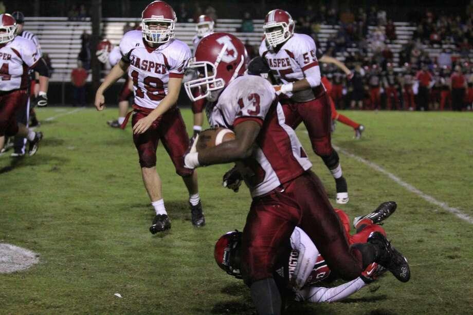 Jasper Defeats Huntington with 6 Touchdowns Photo by Jason Dunn