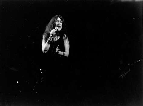 Folk-rock singer Janis Joplin performs in Dec. 1969 at an unknown location. (AP Photo) / AP1969