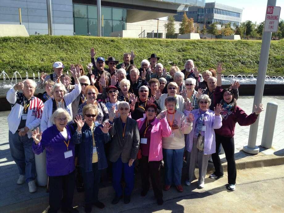 Senior Circle members celebrate their trip to Branson, Mo. Photo: Tomball Regional Medical Center Photo
