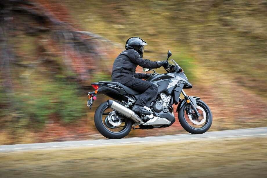 2013 Honda CB500X. Photo: Wieck