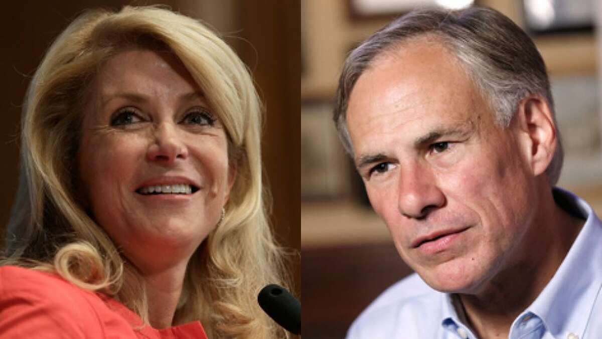 Wendy Davis and Greg Abbott are seeking to replace Gov. Rick Perry in the Nov. 4, 2014 election. The new governor takes office Jan. 20, 2015.