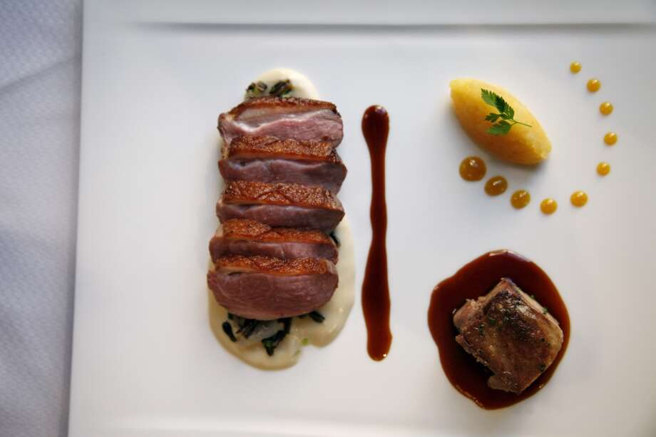 "Sonoma ""Liberty"" duck at Fairmont Sonoma Mission Inn's Sante. Photo: Preston Gannaway, Special To The Chronicle"