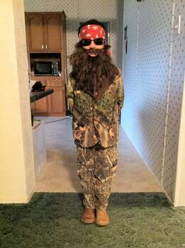 Happy Halloween from my favorite Robertson...Willie (my son Gus)!