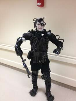 Me as the Borg- you will be assimilated!!!