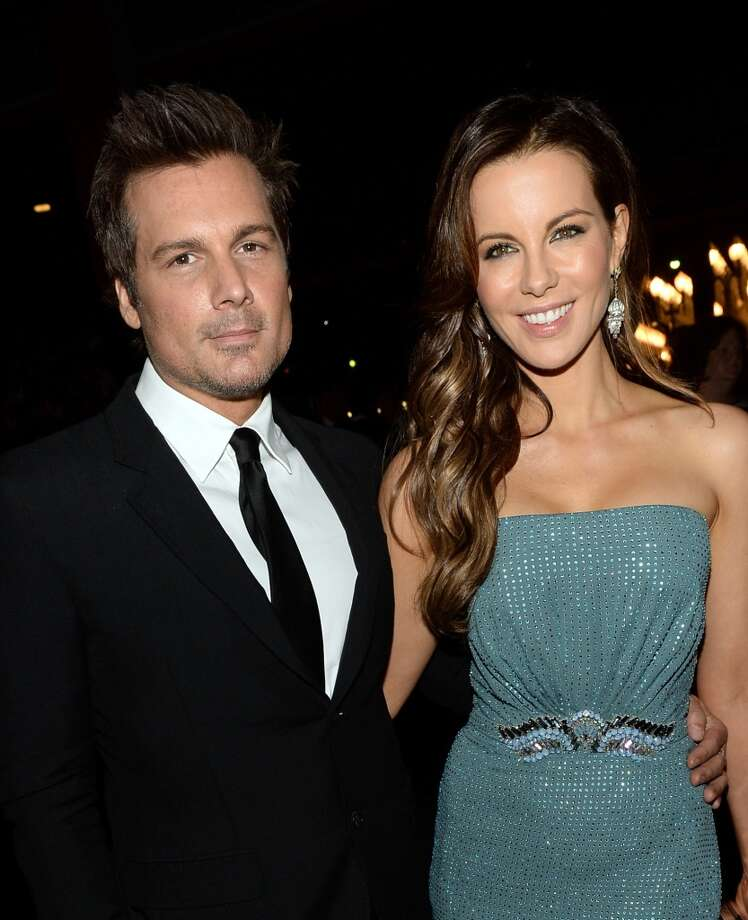 Director Len Wiseman and actress Kate Beckinsale, wearing Gucci, attend the LACMA 2013 Art + Film Gala honoring Martin Scorsese and David Hockney presented by Gucci at LACMA on November 2, 2013 in Los Angeles, California.  (Photo by Michael Buckner/Getty Images for LACMA) Photo: Michael Buckner, Getty Images For LACMA
