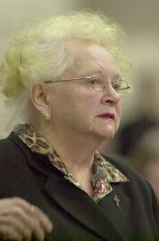 Kathy Mill, mother of Green River Killer victim Opal Mills., addresses the court during the sentencing of Gary Ridgway Dec. 18, 2003, in Seattle, Washington. Ridgway recieved a life sentence, with out the possibility of parole, for killing 48 women over the past 20 years in the Green River Killer serial murder case. Photo: Pool, / / 2003 Getty Images