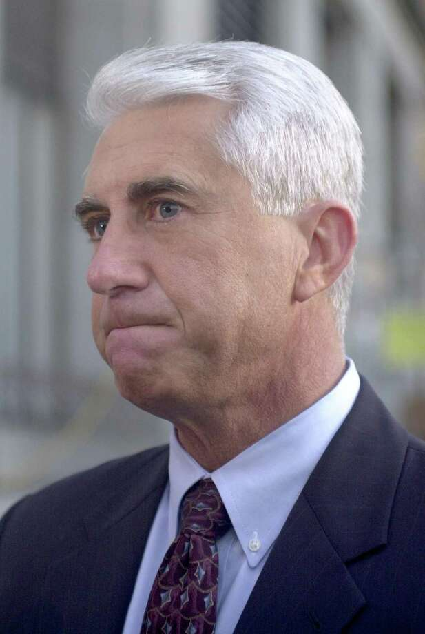 King County Sheriff Dave Reichert, one of the original detectives in the Green River serial murder case, is seen before Gary Ridgway was sentenced on Dec. 18, 2003 in Seattle. Ridgway received a life sentence, without the possibility of parole, for killing 48 women over the past 20 years in the Green River Killer serial murder case. Photo: Pool, / / 2003 Getty Images