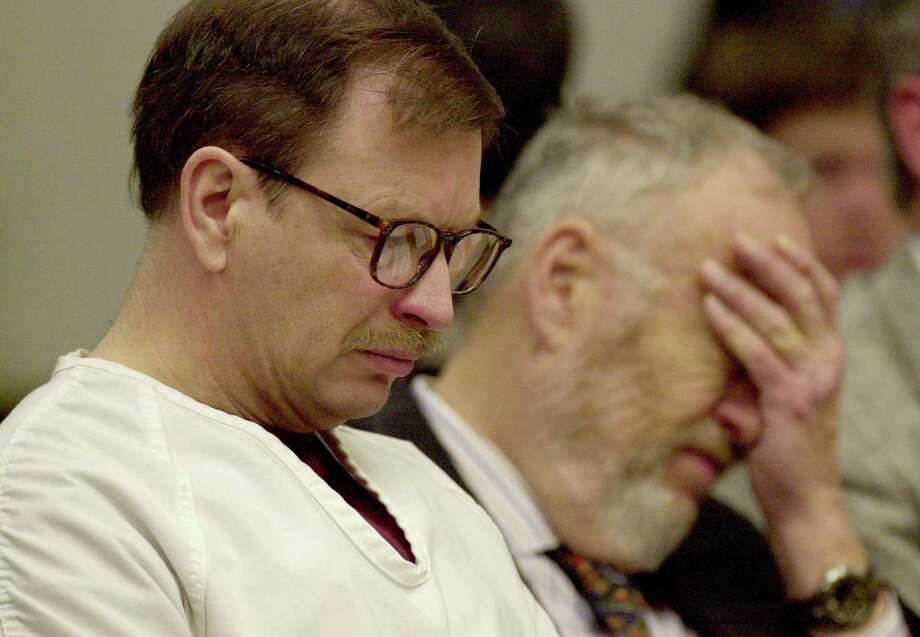 Gary Ridgway sits in court during his Dec. 18, 2003, sentencing hearing in Seattle. Photo: Pool, / / 2003 Getty Images