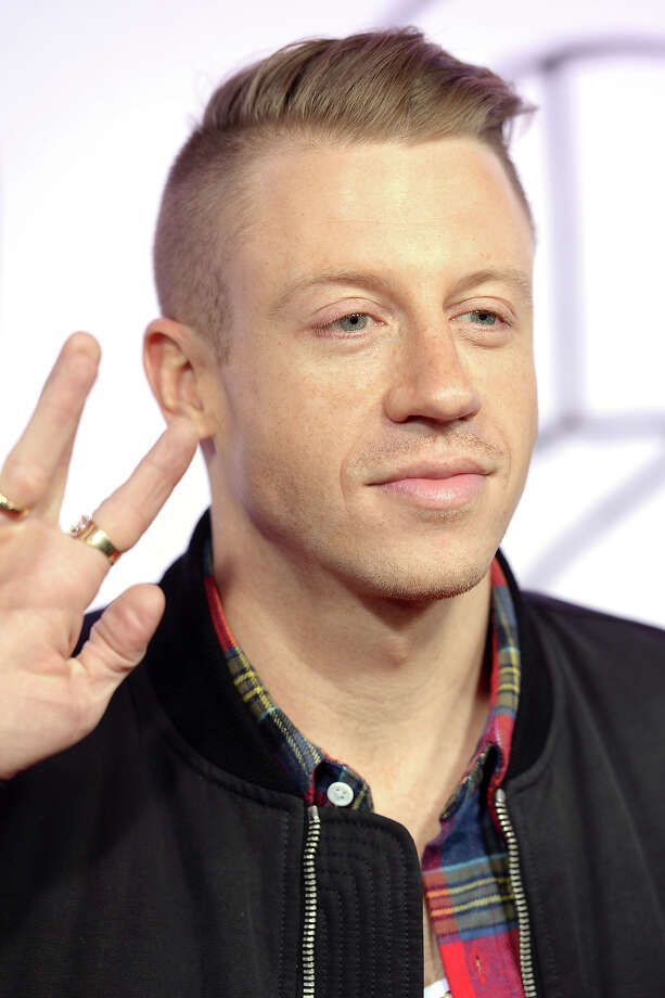 Macklemore attends the 2013 YouTube Music awards at Pier 36 on November 3, 2013 in New York City. Photo: Dimitrios Kambouris, Getty Images / 2013 Getty Images