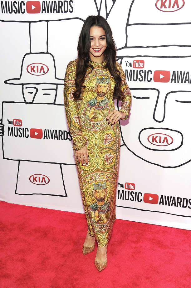 Actress Vanessa Hudgens attends the YouTube Music Awards 2013 on November 3, 2013 in New York City. Photo: Dimitrios Kambouris, Getty Images / 2013 Getty Images