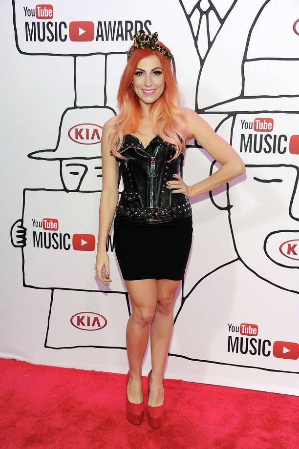 Singer Bonnie McKee attends the YouTube Music Awards 2013 on November 3, 2013 in New York City. Photo: Dimitrios Kambouris, Getty Images / 2013 Getty Images