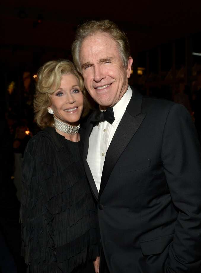 Actress Jane Fonda and actor Warren Beatty attend the LACMA 2013 Art + Film Gala honoring Martin Scorsese and David Hockney presented by Gucci at LACMA on November 2, 2013 in Los Angeles, California. Photo: Charley Gallay, Getty Images For LACMA