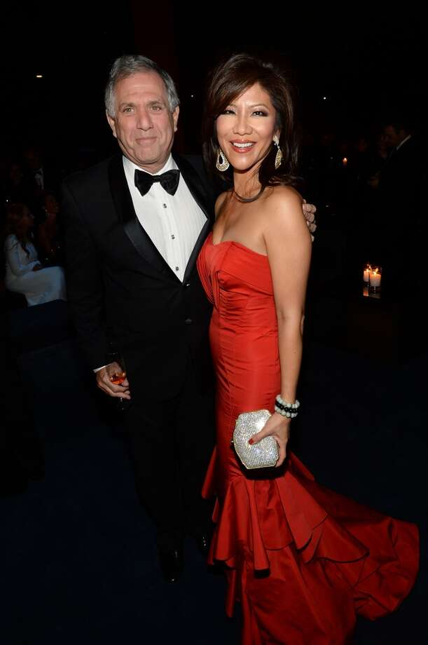 Leslie Moonves (L) and Julie Chen attend the LACMA 2013 Art + Film Gala honoring Martin Scorsese and David Hockney presented by Gucci at LACMA on November 2, 2013 in Los Angeles, California.  (Photo by Michael Buckner/Getty Images for LACMA) Photo: Michael Buckner, Getty Images For LACMA
