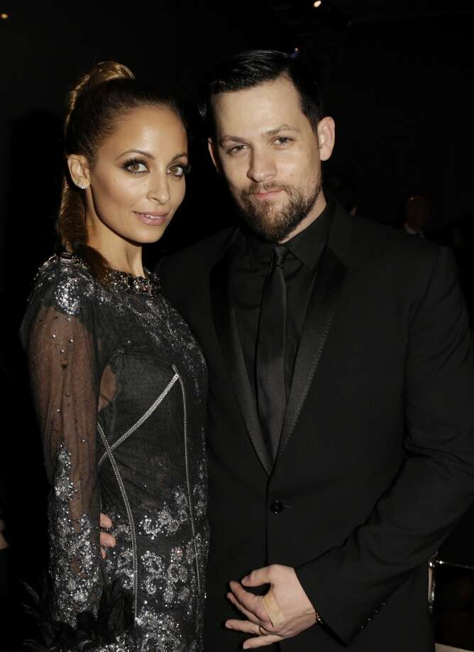 Nicole Richie (L) and Musician Joel Madden attend the LACMA 2013 Art + Film Gala honoring Martin Scorsese and David Hockney presented by Gucci at LACMA on November 2, 2013 in Los Angeles, California. Photo: Jeff Vespa, Getty Images For LACMA