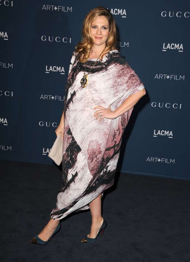 Drew Barrymore arrives at the LACMA 2013 Art + Film Gala at LACMA on November 2, 2013 in Los Angeles, California. Photo: Steve Granitz, WireImage