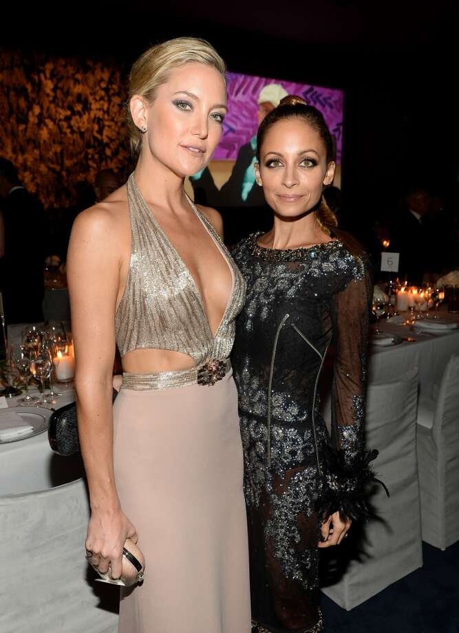 Actors Kate Hudson and Nicole Richie attend the LACMA 2013 Art + Film Gala honoring Martin Scorsese and David Hockney presented by Gucci at LACMA on November 2, 2013 in Los Angeles, California. Photo: Michael Buckner, Getty Images For LACMA